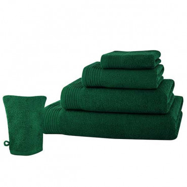 Prosop maini Lux Collection, 30x50 cm, 100% bumbac, Verde